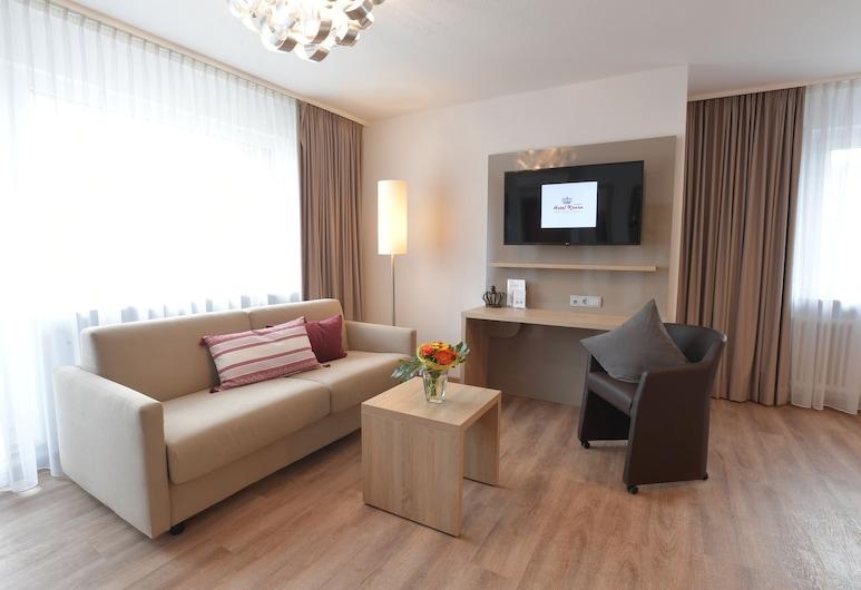 Hotel Krone, Niefern, Liukso klasės dvivietis kambarys, Svetainės zona