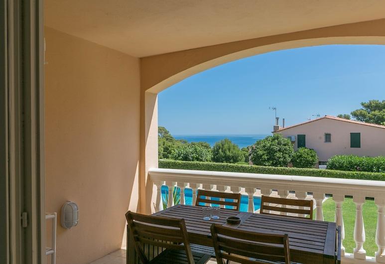 Sa Nau JP, Begur, Apartmán, 2 ložnice, terasa, výhled na moře, Terasa