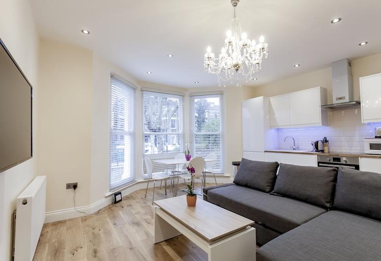 Valet Apartments Kilburn, London, Apartment, 2Schlafzimmer, Wohnbereich