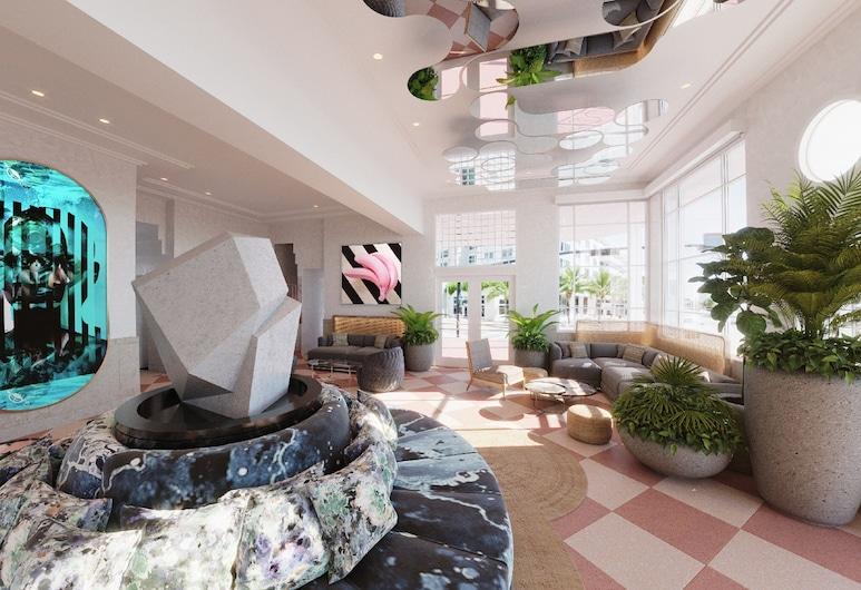 Greystone Miami Beach, מיאמי ביץ', אזור ישיבה בלובי