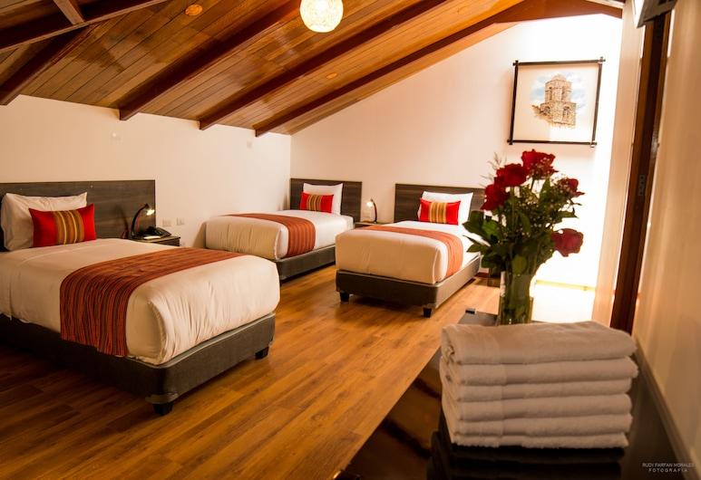Hotel San Pedro Plaza, Cusco, Superior-værelse til 3 personer, Værelse