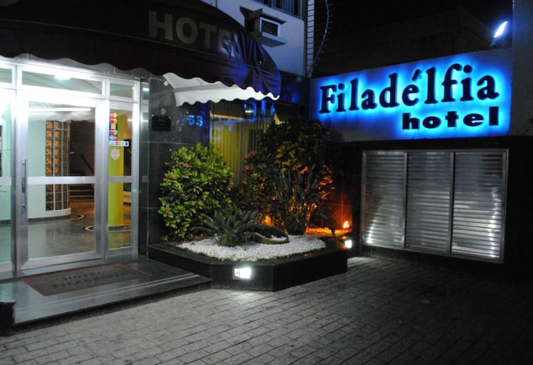 Filadelfia Hotel, São Paulo, Hotellfasad