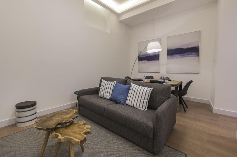 Appartamento, 1 letto queen, non fumatori - Area soggiorno