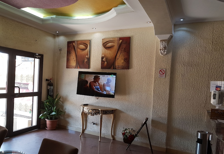Hotel Golden Plazza, Conakry, Rezeption