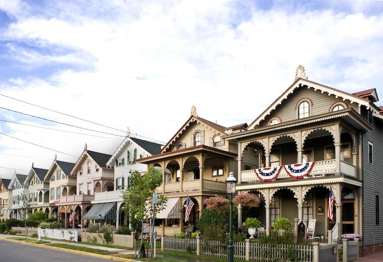 John Wesley Inn, Cape May, Hotelgelände