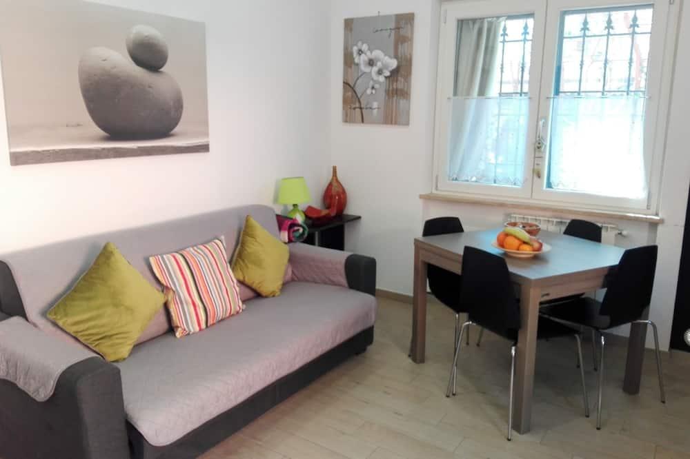 شقة كلاسيكية - سرير مزدوج - تجهيزات لذوي الاحتياجات الخاصة - في الطابق الأرضي - منطقة المعيشة