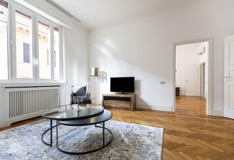 Sonder - Trinita Dei Monti, Rome, Suite Premium, 3 camere da letto, Area soggiorno