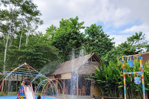 Öko-Bambushaus