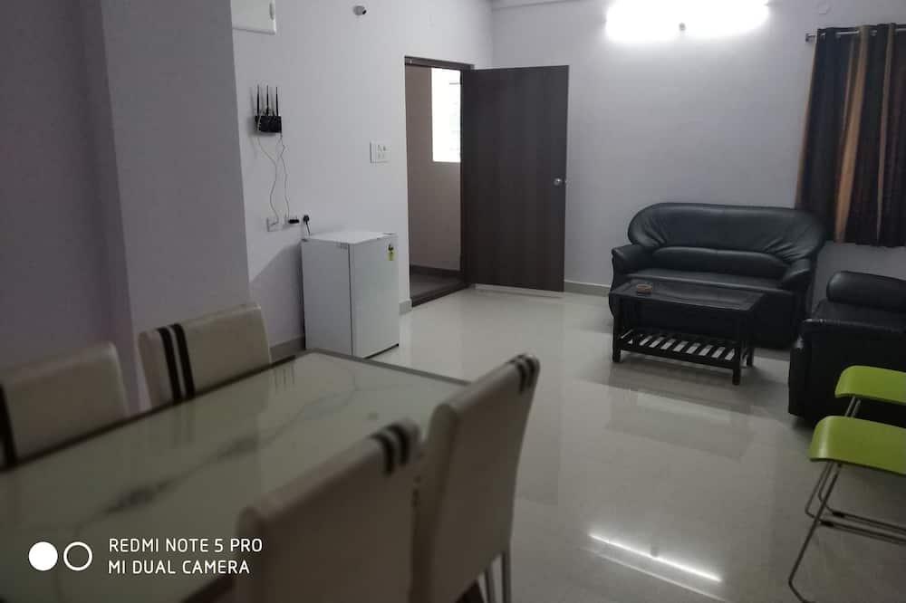 公寓, 2 間臥室, 吸煙房 - 客廳