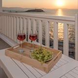 Apartament typu Deluxe Suite, wanna z hydromasażem, widok na morze - Balkon