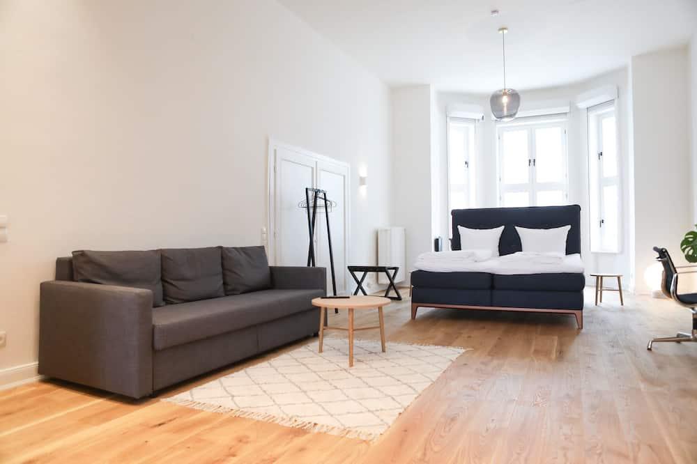 Luksuzni apartman, 2 spavaće sobe, terasa, prizemlje (Inner City) - Soba