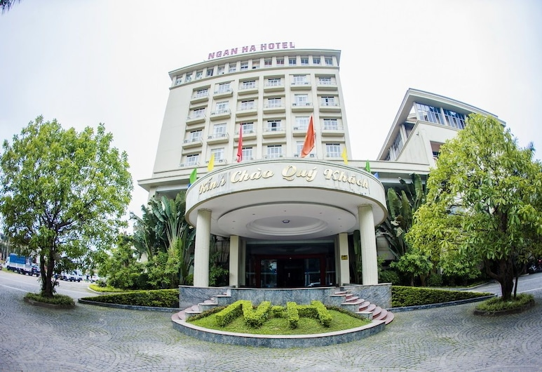 Ngan Ha Hotel, Ha Tinh, Terrasse/Patio