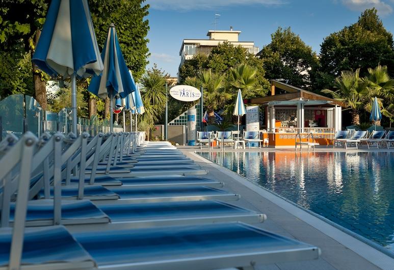 Hotel Paris Resort, Bellaria-Igea Marina, Terraza