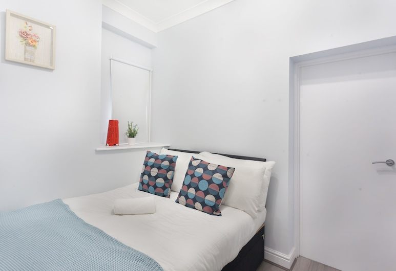 London City Gate - Kings Cross - St Pancras, London, Apartment, Private Bathroom (2), Bilik Tamu