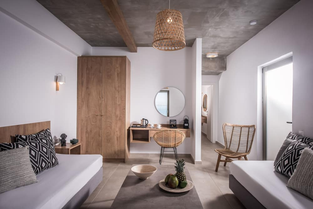 Suite Junior, vista mare - Area soggiorno