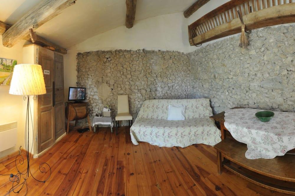 Cottage (Des Collines) - Living Area