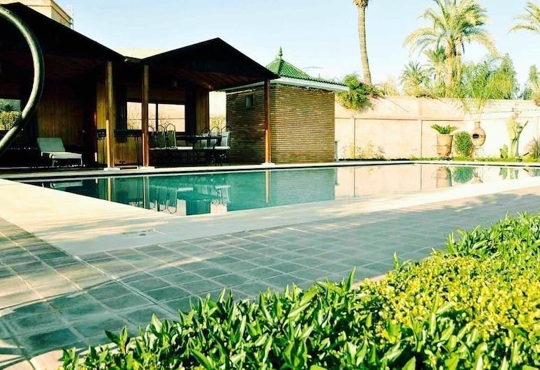 Villa Chrifia, Marrakech, Superior-huvila, Useita makuuhuoneita, Yksityinen uima-allas, Näkymä huoneesta