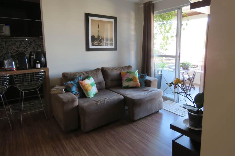 Apartment, 2Doppelbetten, Nichtraucher - Wohnzimmer