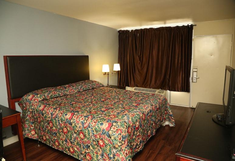 Economy Inn, Šarlotė, Ekonominės klasės vienvietis kambarys, 1 labai didelė dvigulė lova, Nerūkantiesiems, Svečių kambarys