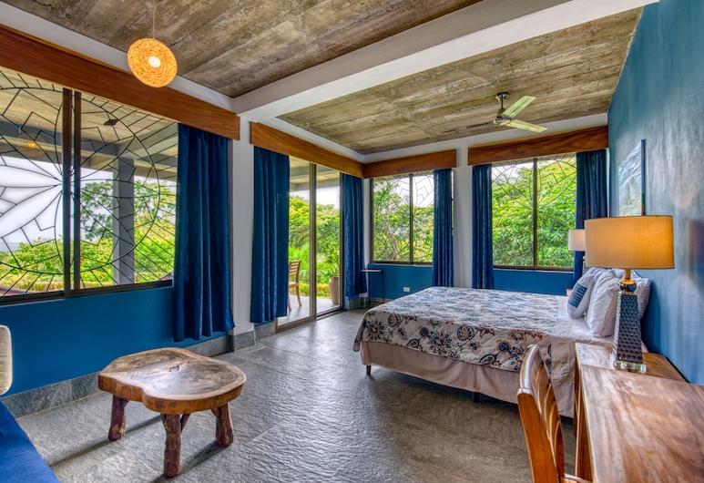 Ananda Guesthouse, Альтаграсия, Панорамный люкс, 1 двуспальная кровать «Кинг-сайз», для некурящих, вид на горы, Номер