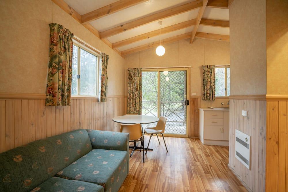 Family kämpingumaja, 1 magamistoaga, vaade pargile - Lõõgastumisala