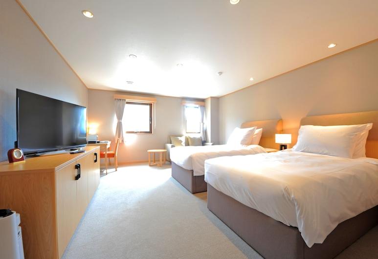 티 호텔 류우, 야마노우치, 슈피리어 트윈룸, 객실