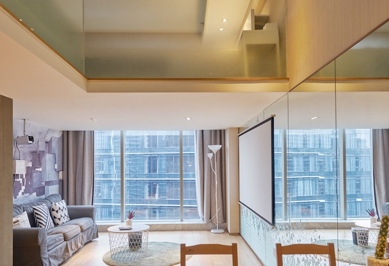 Yusu Hotel Future technology city Branch, Hangzhou, Loftový byt, Pokoj