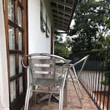舒適客房, 花園景觀 - 陽台