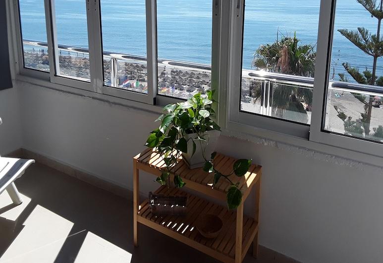 Apartamentos Roca Chica, Torremolinos, Penthouse - 1 sovrum - terrass - havsutsikt (54), Utsikt från rummet