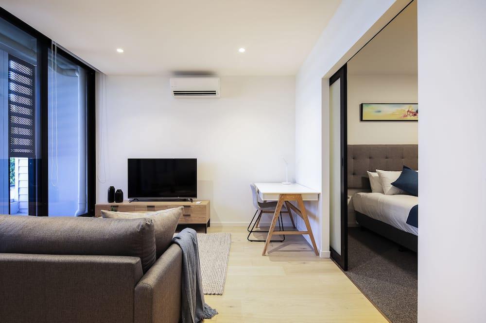 Departamento estándar, 1 cama King size, para no fumadores - Sala de estar