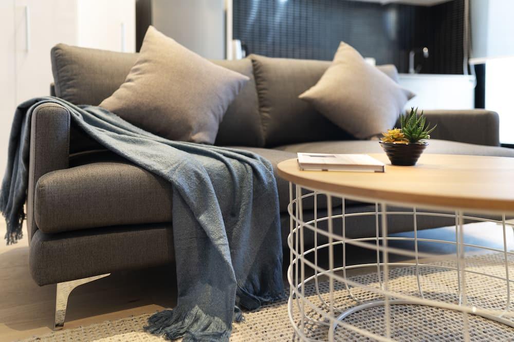 Departamento Deluxe, 1 cama King size, para no fumadores - Sala de estar