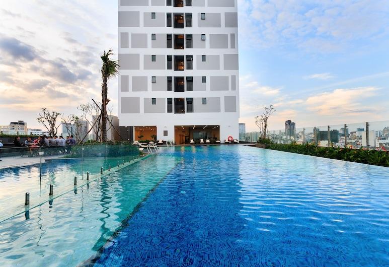 The Milky Way River Gate Apartment, Ciudad Ho Chi Minh, Piscina al aire libre
