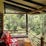 Casa de campo familiar, 1 cama Queen size, vista al río (1) - Balcón