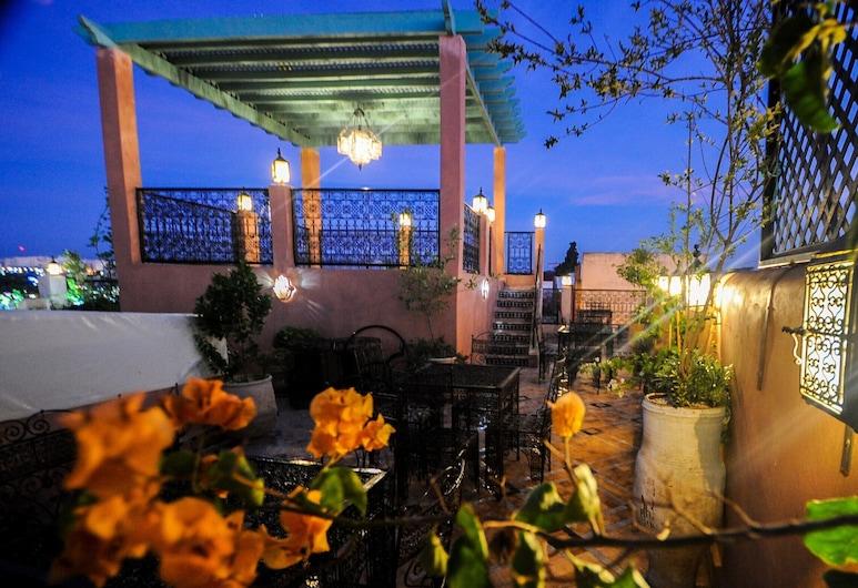 Riad Mama H&K, Mequinez, Terraza o patio