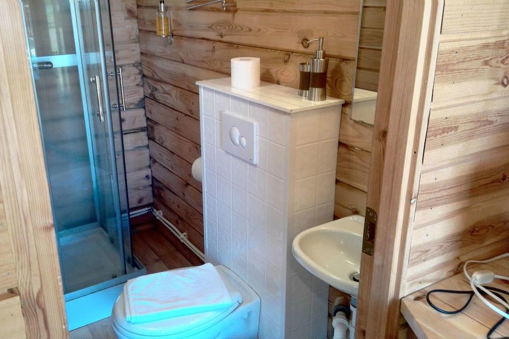Vasarnamis, 1 miegamasis - Vonios kambarys