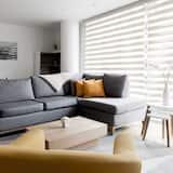 Designový apartmán, více lůžek, nekuřácký - Obývací prostor