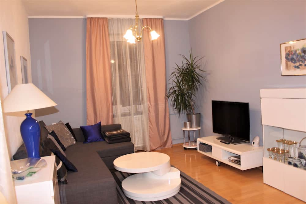 Maison, 4 chambres - Coin séjour