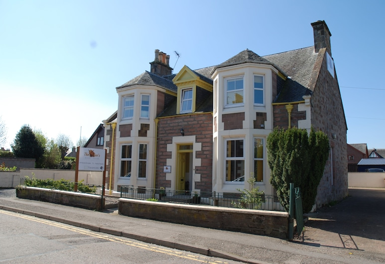 The Coo's Guest House, Inverness, Hotellets facade