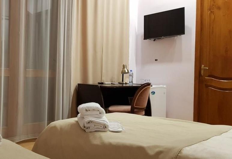 Hotel VIP Victoria, Tbilisi, Tomannsrom – economy, 2 enkeltsenger, Gjesterom