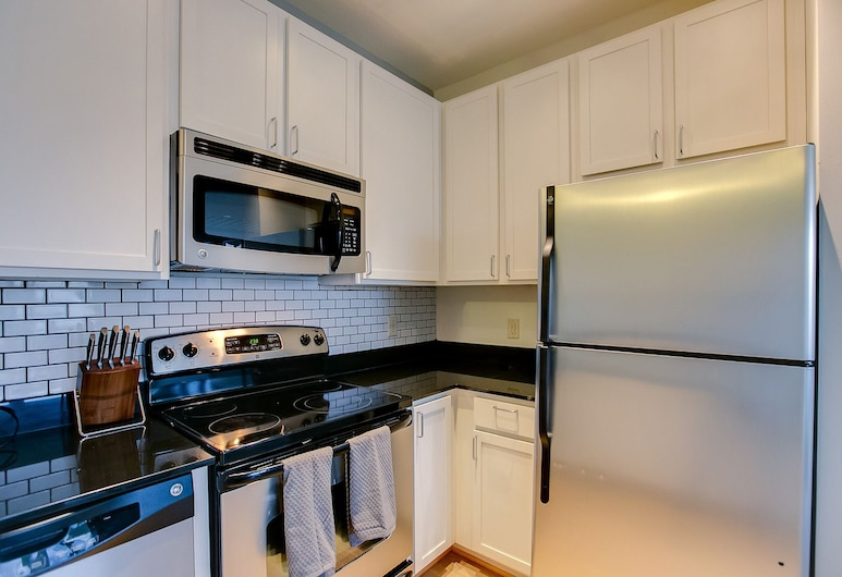 Prospect Park Apt by VectorStays, Minneapolis, Apartment, 1 Queen Bed, Non Smoking, Private kitchen