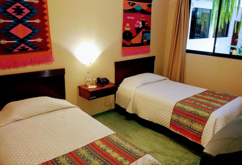 Hotel Indio Inn, Otavalo, Chambre Standard, non-fumeurs, vue cour intérieure, Chambre