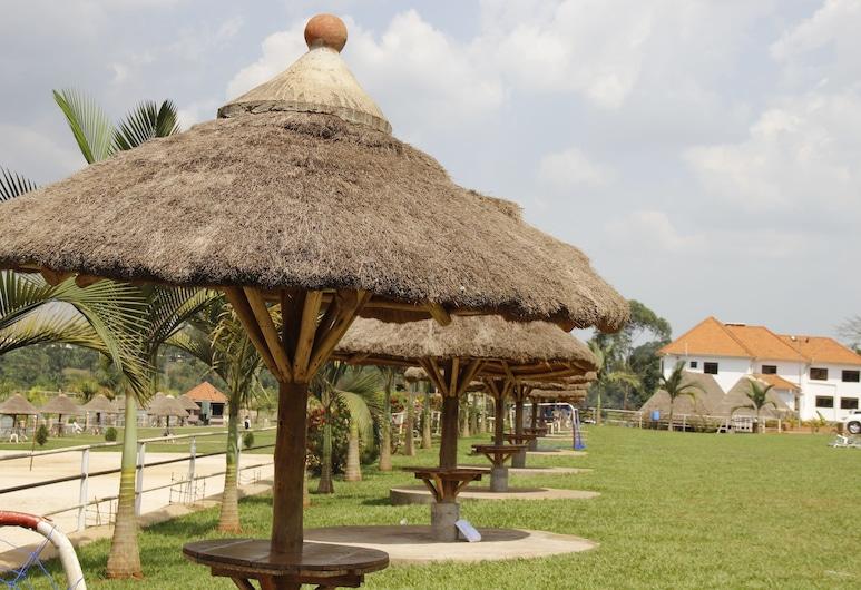 Forest Park Resort, Buloba, Vrt
