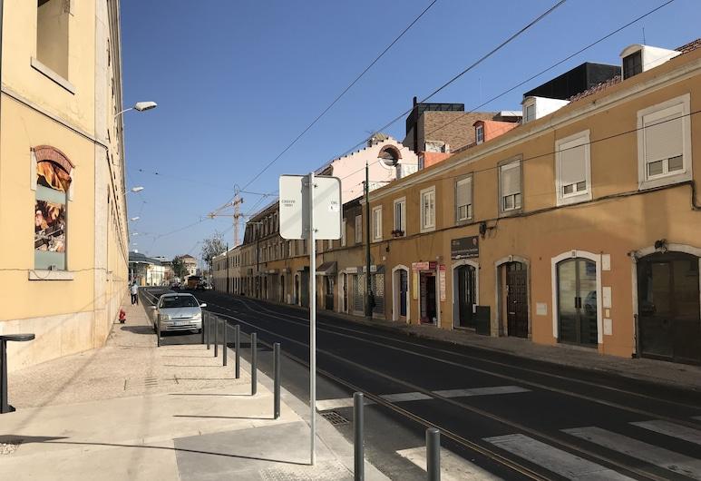 Find Me Inn Alcantara Terrace, Lissabon, Overnatningsstedets facade
