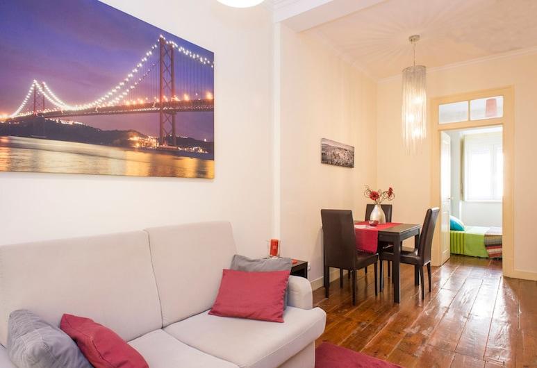 Find Me Inn Alcantara Terrace, Lisbon, Apartment, 2 Bedrooms, Terrace, Living Area