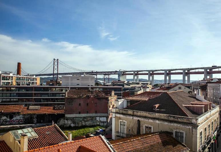 Find Me Inn Boutique Penthouse, Lisbon, Apartment, 4 Bedrooms, City View, View from room