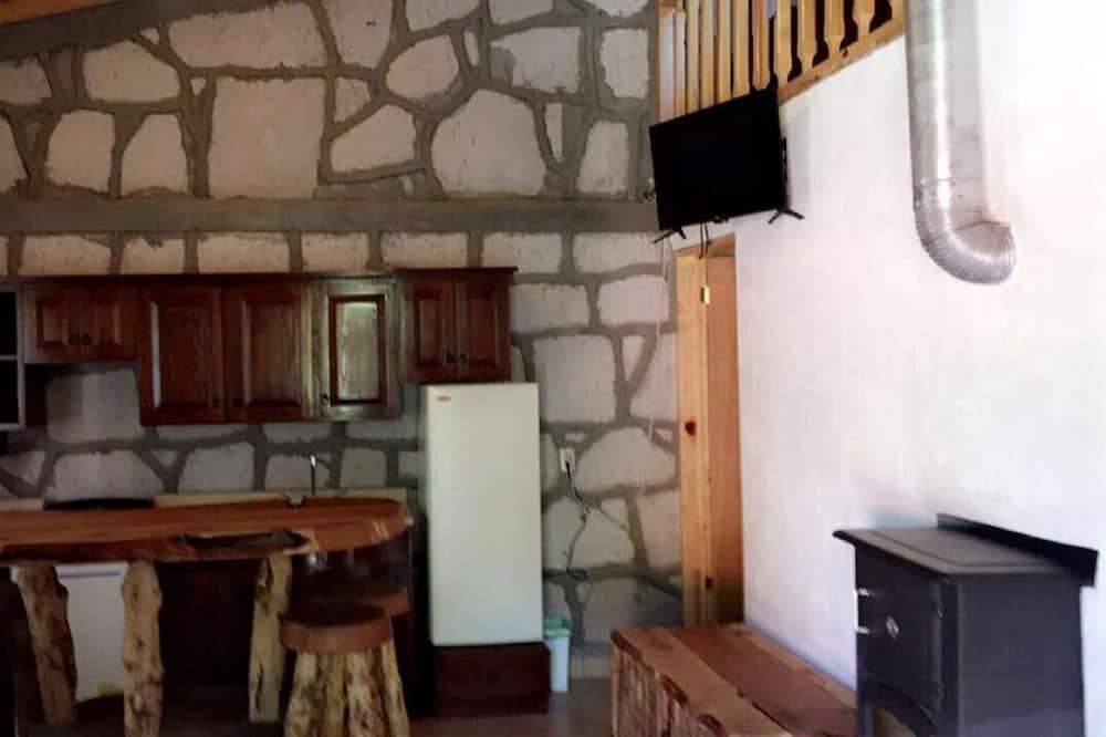 Cabane, 2 chambres, non-fumeurs - Salle de séjour