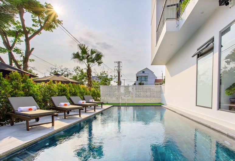 會安瑟倫納塔別墅飯店, 會安, 室外游泳池