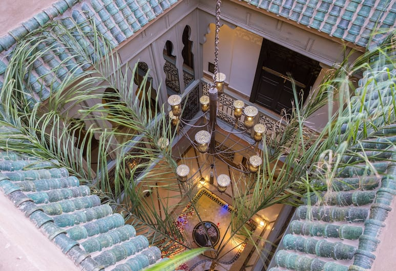 Riad L'Evidence, Marrakech, Dziedziniec