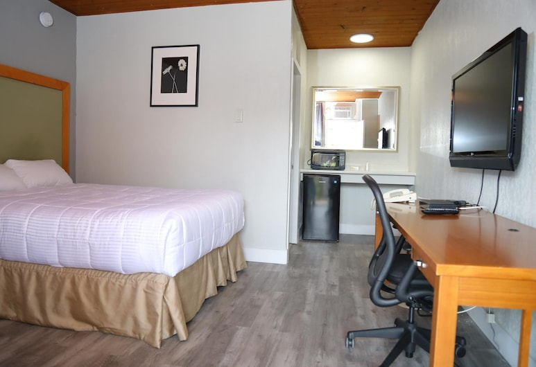 Fraser Inn, Prince George, Habitación individual Deluxe, 1 cama Queen size, cocina básica, Habitación