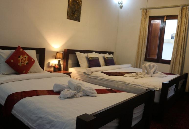 Villa Merry 2, Luang Prabang, Dreibettzimmer, Zimmer